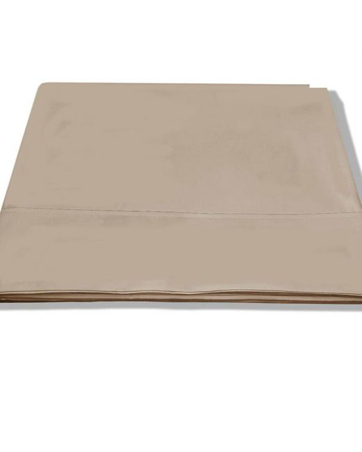 Egyptian cotton 300 thread count flat sheet stone 2