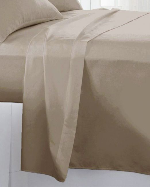 Egyptian cotton 300 thread count flat sheet stone