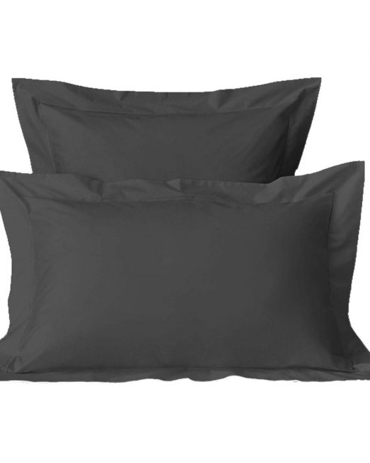 Egyptian cotton 300 thread count pillow caset grey