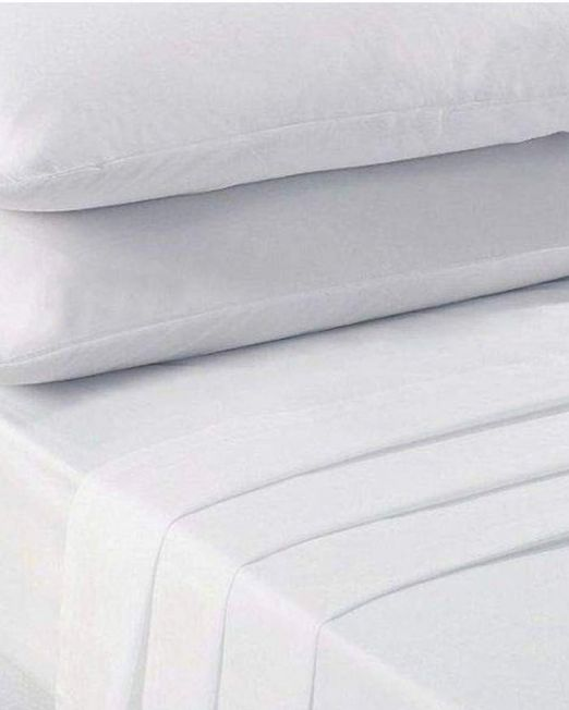 Simon Baker flat Sheet white-min