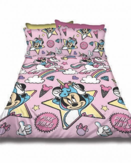 minie mouse kiddies duvet cover-min