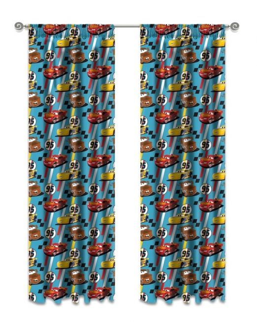 Kiddies Cars Curtain