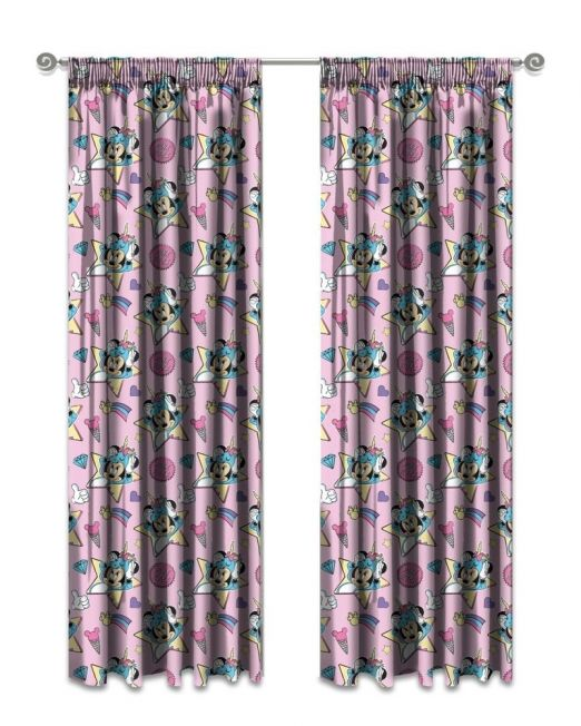 Kiddies Minnie Mouse Curtain