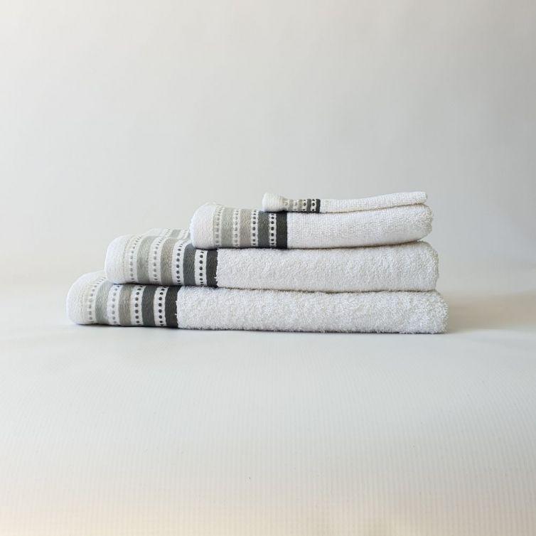 Bristol Royal Turkish Towels – White 450GSM