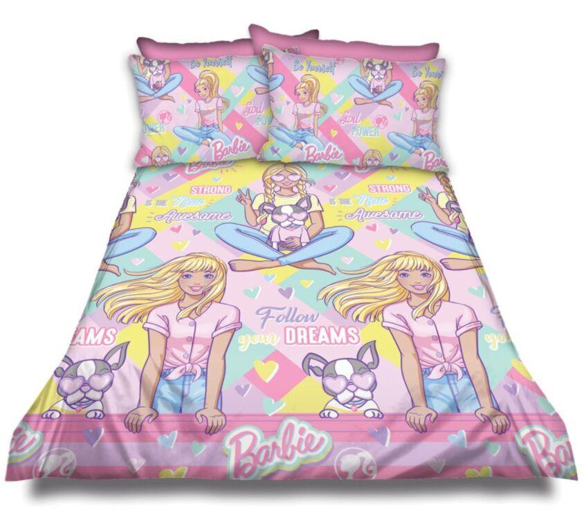 Barbie – Follow your dreams Kiddies Duvet Cover Set