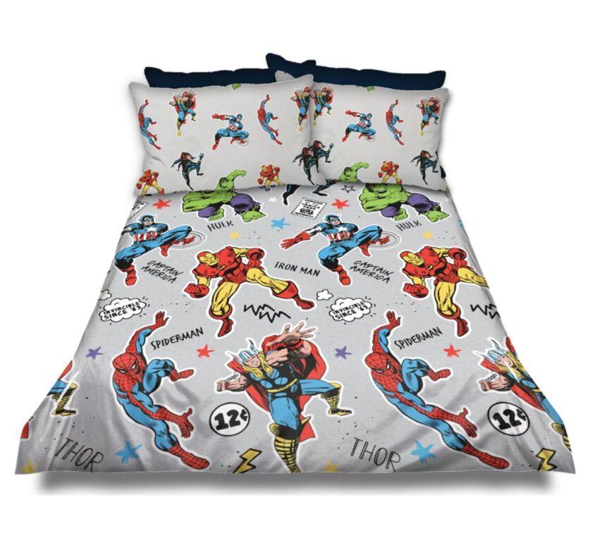 Marvel Kiddies Duvet Cover Set