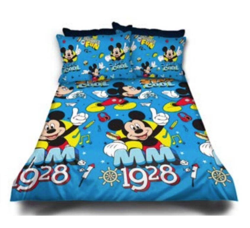 Mickey Mouse Kiddies Duvet Cover Set