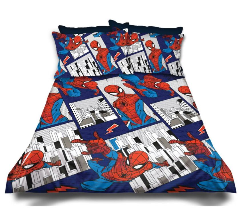 Spiderman Kiddies Duvet Cover Set