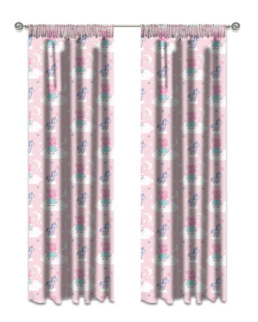 Kiddie Peppa Pig Curtains