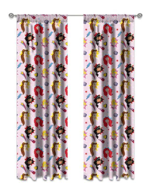 Kiddies Disney Princesses Curtains
