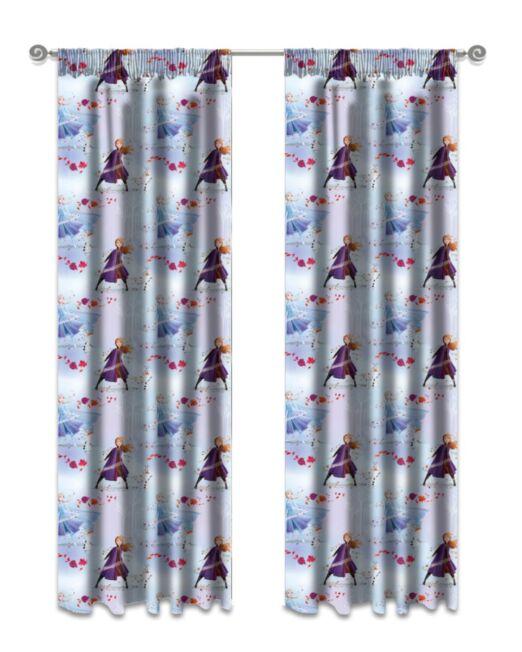Kiddies Frozen Curtains