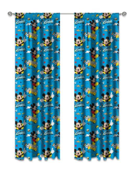 Kiddies Mickey Mouse Curtain